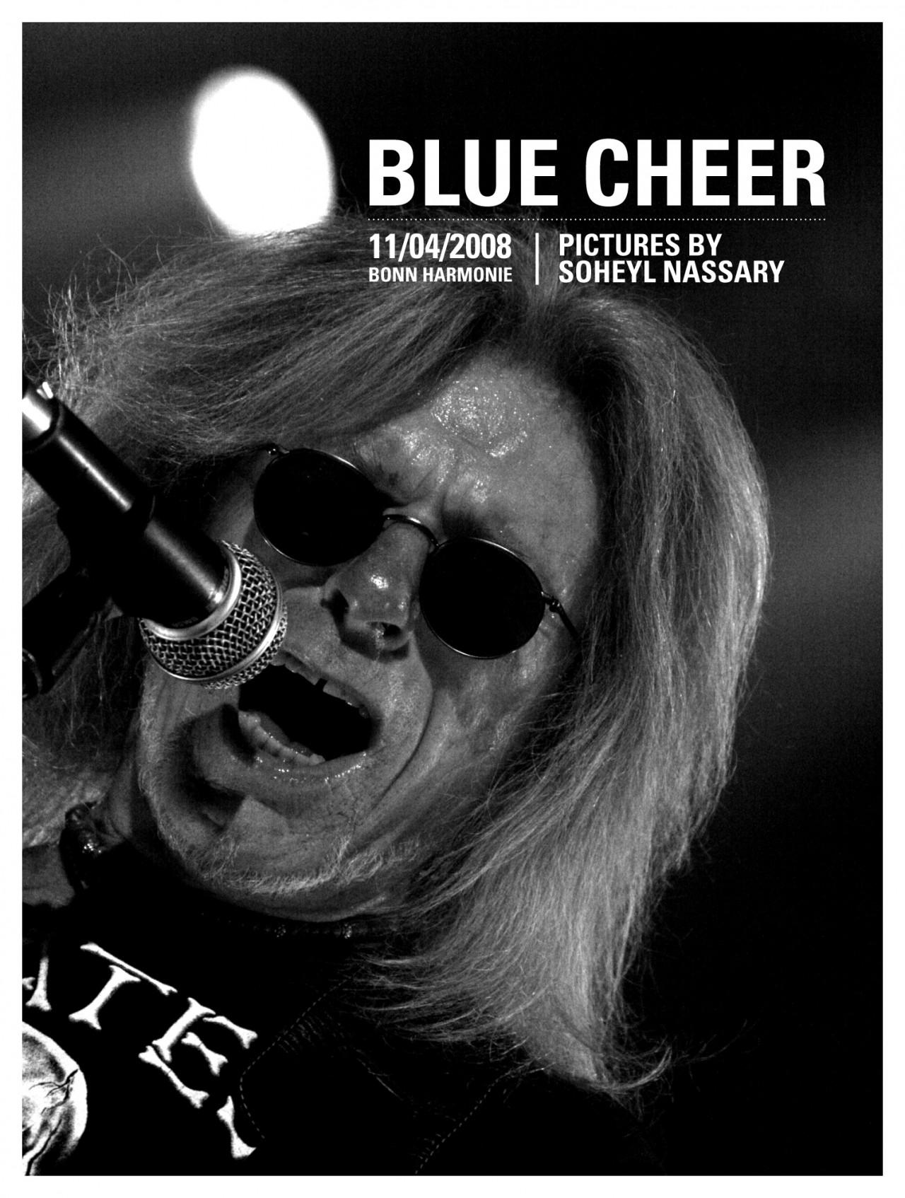 soheyl nassary BLUE CHEER // HARMONIE
