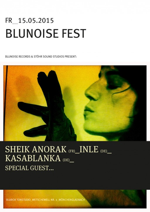 soheyl nassary BLUNOISE FEST POSTERS I