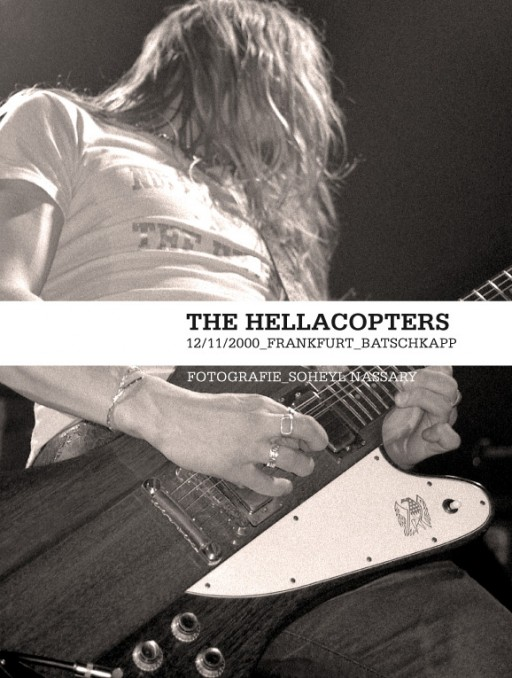 soheyl nassary THE HELLACOPTERS