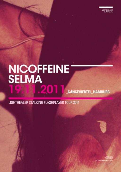 soheyl nassary NICOFFEINE TOUR POSTER 02