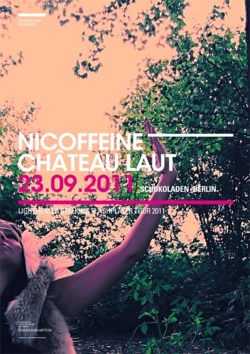 SOHEYL NASSARY NICOFFEINE TOUR POSTERS 01
