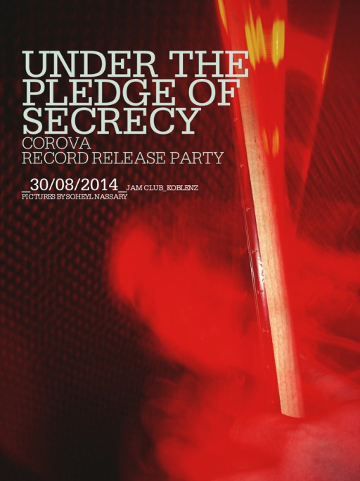 SOHEYL NASSARY COROVA / UNDER THE PLEDGE OF SECRECY