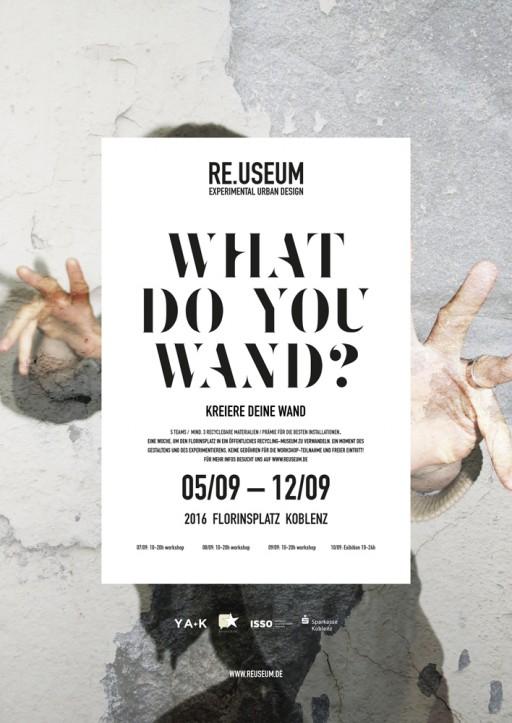 soheyl nassary RE.USEUM / WHAT DO YOU WAND?
