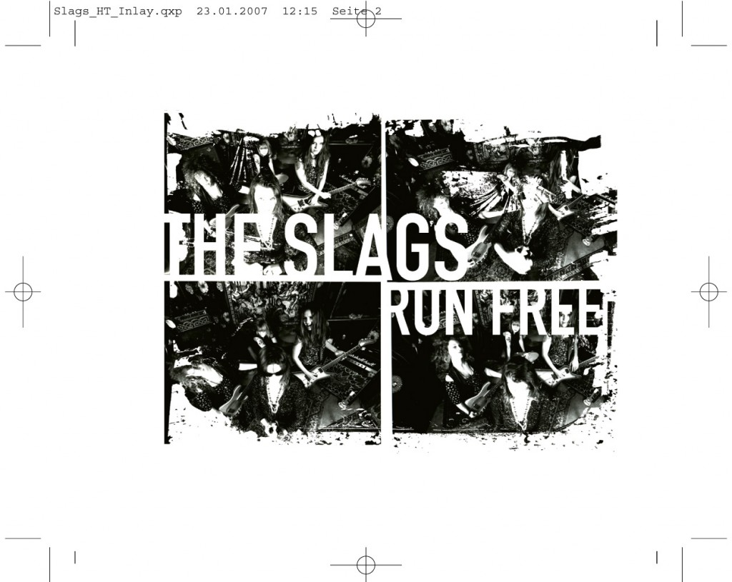 soheyl nassary THE SLAGS // RUN FREE