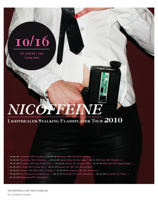 soheyl nassary NICOFFEINE US TOUR 2010