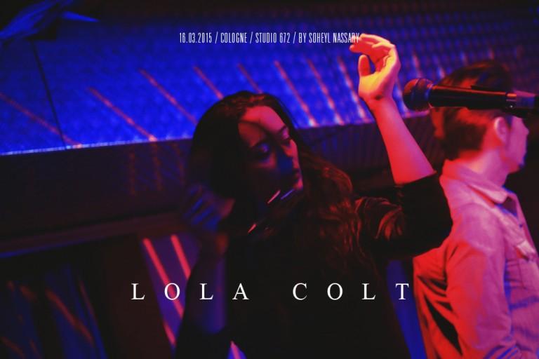 soheyl nassary LOLA COLT