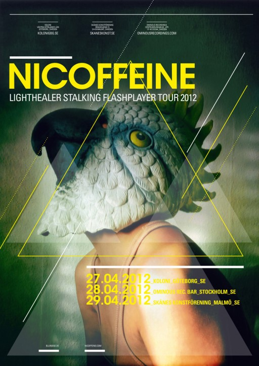 soheyl nassary NICOFFEINE POSTERS 2012