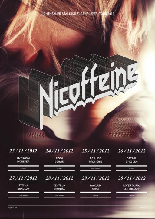 soheyl nassary NICOFFEINE TOUR 2012