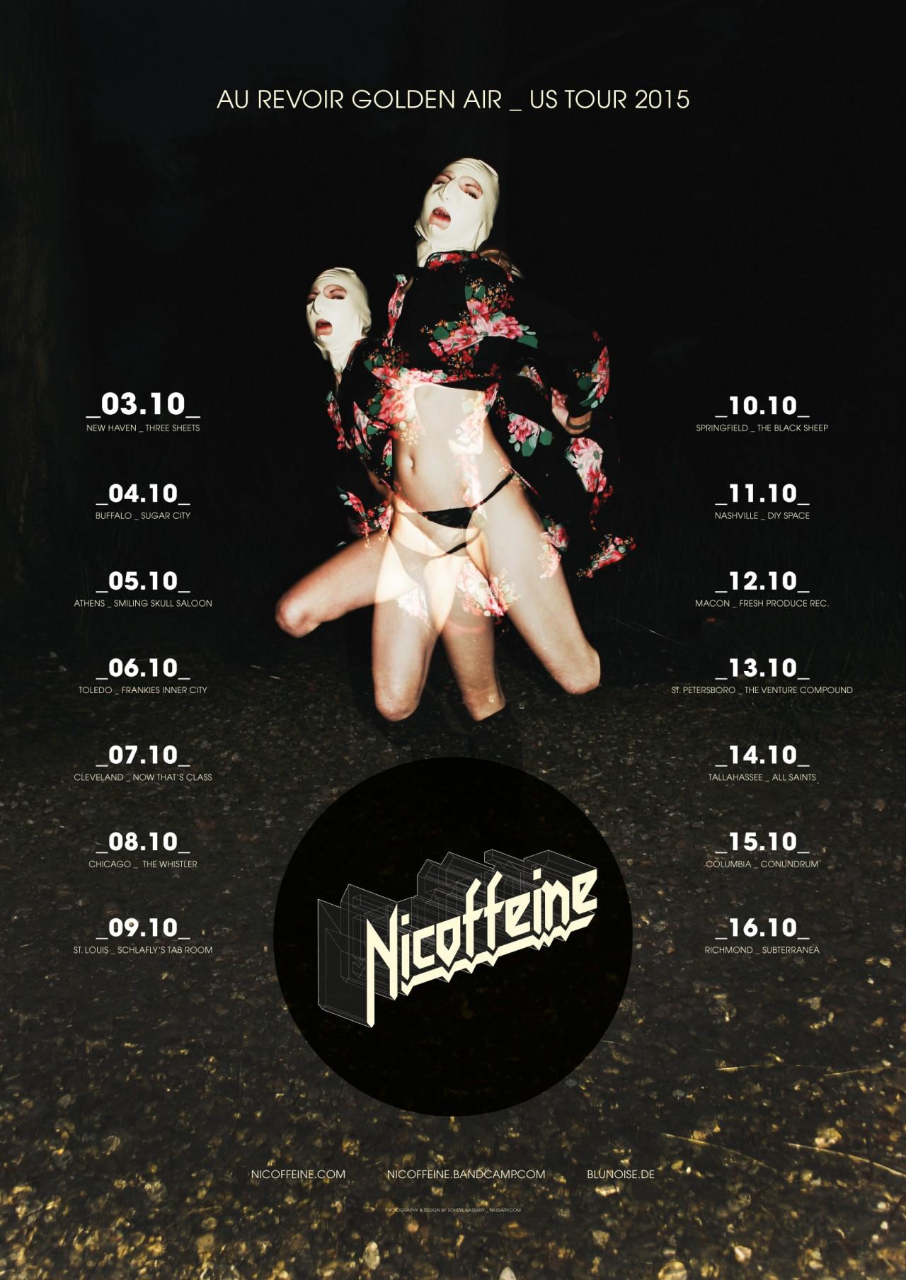 SOHEYL NASSARY NICOFFEINE / US 2015